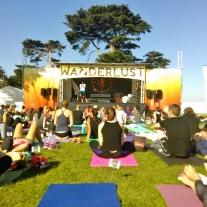 Wanderlust festival by St.Kilda beach